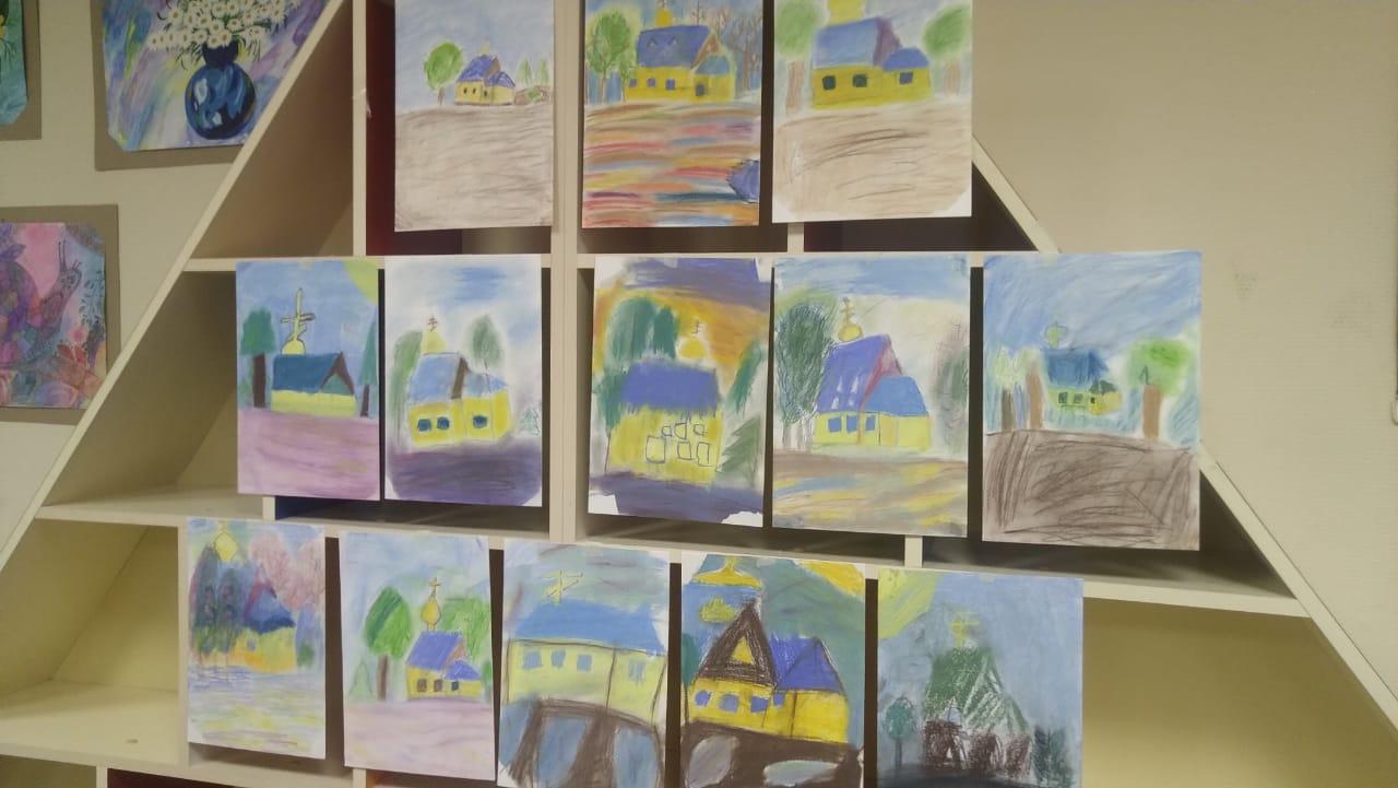 Рисуем пастелью - Творческое занятие-4