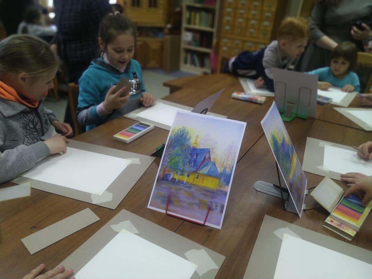 Рисуем пастелью - Творческое занятие