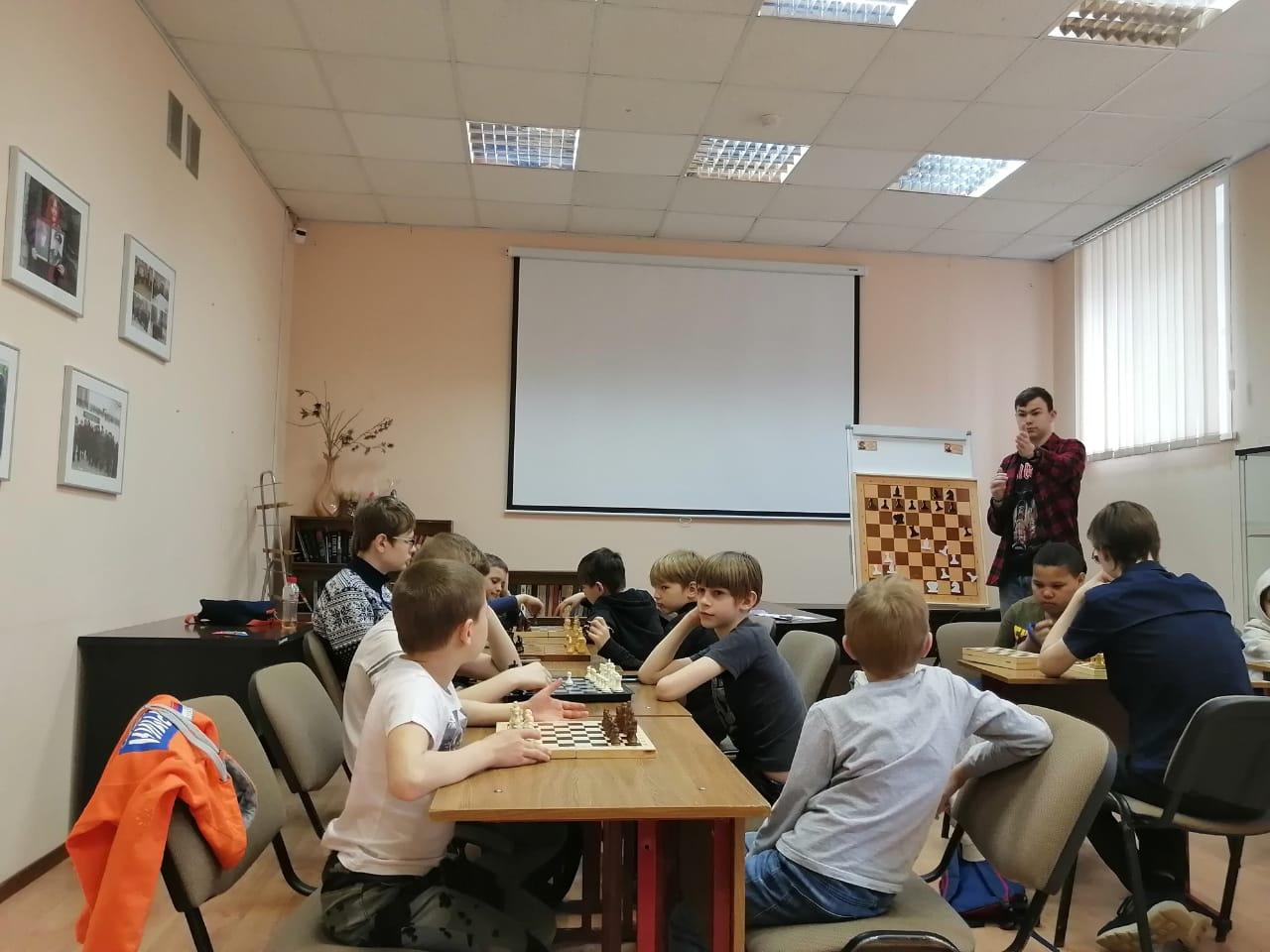 Шахматный клуб Степана Павловского-3