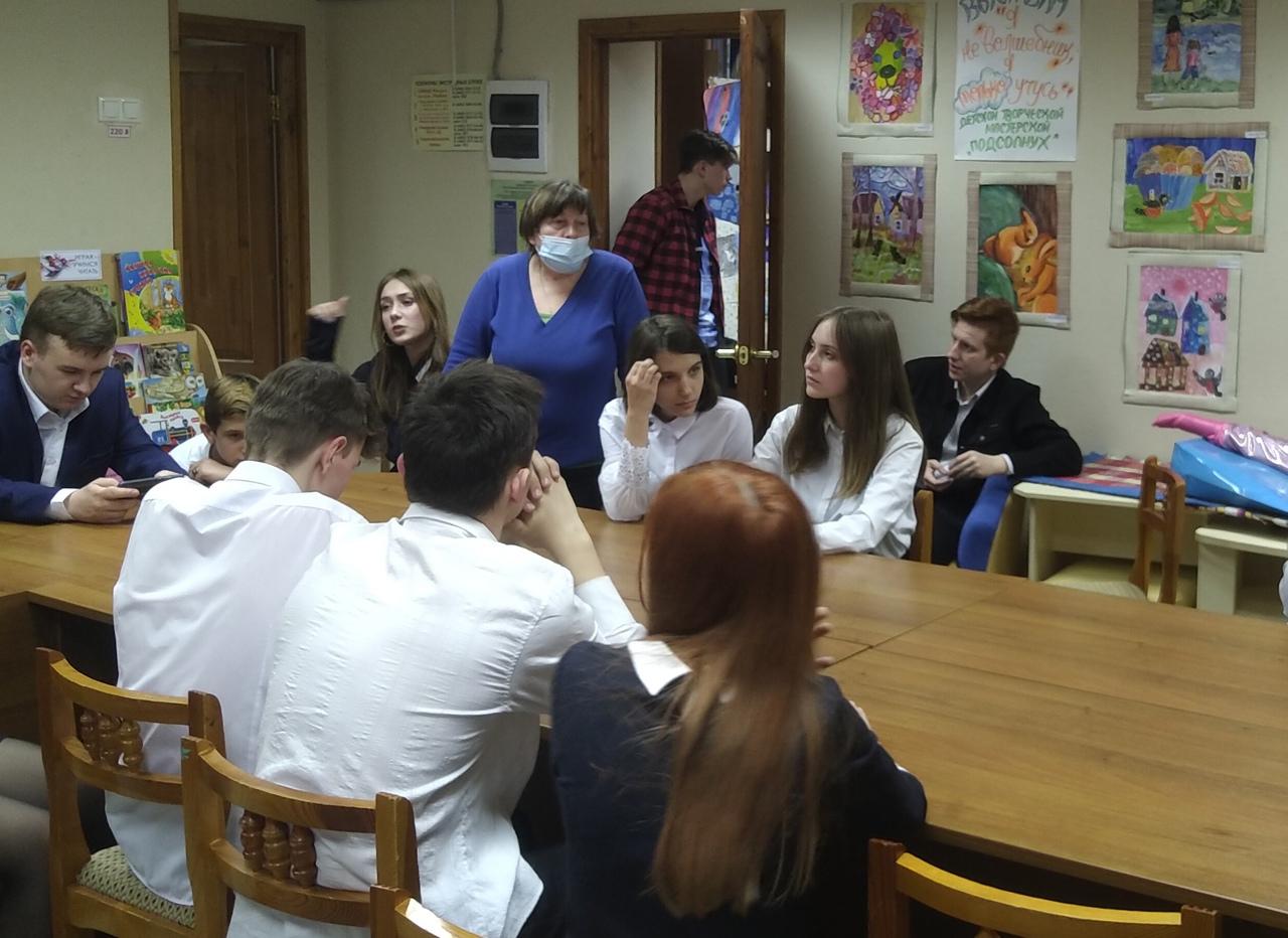 Твоя профессия - Беседа-диалог со старшеклассниками
