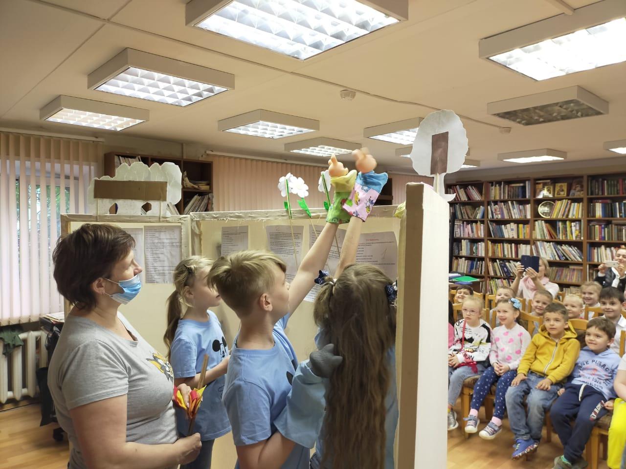 Книга-кукла-театр - Кукольный театр в библиотеке-3