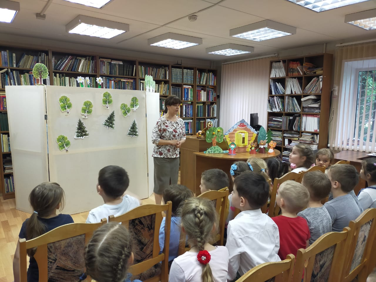 Книга-кукла-театр - Кукольный театр в библиотеке