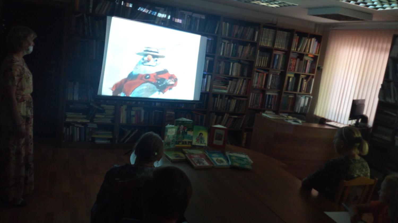Книга в кадре - Библиотечный кинозал